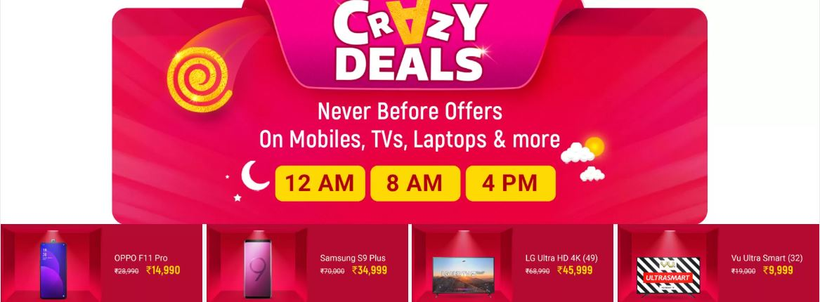 Crazy Deals 29 Sept 2019