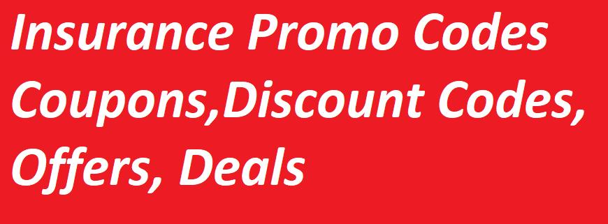 Insurance Coupons / Promo Codes - 1800 contacts,Mercury,Visitors,Progressive,GEICO,eHealth,Nationwide,Policygenius,Figo,Dental